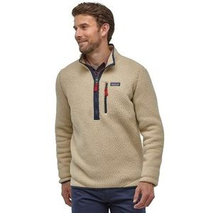 NWT Men's El Cap Khaki Patagonia Fleece Pullover